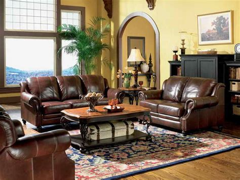 Leather Sofas For Living Room by Living Room Living Rooms With Leather Furniture