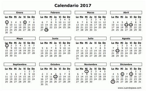 Calendario Noviembre 2017 Usa Aprobado El Calendario De Fiestas Laborales Para La