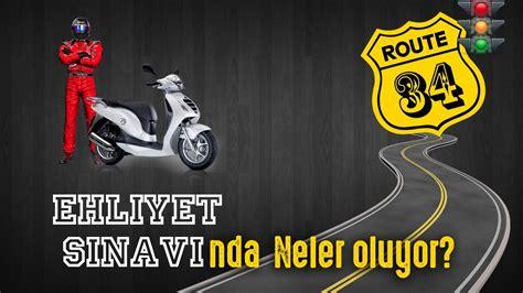 motosiklet ehliyeti direksiyon sinavi youtube