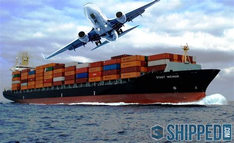 shipping by air vs sea choosing a shipping method buy a shipping container for sale