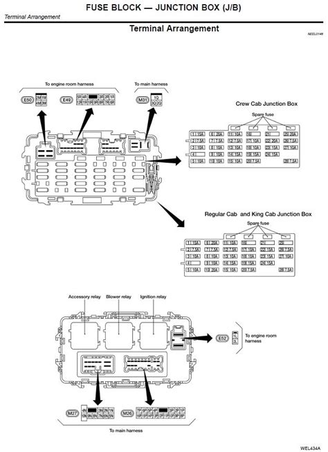 2002 nissan altima fuse box diagram fuse box and wiring