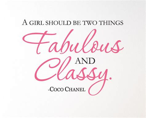 coco chanel quotes coco chanel quote quot a girl should be two things fabulous