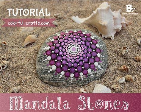 watercolor mandala tutorial painting rock stone animals nativity sets more how
