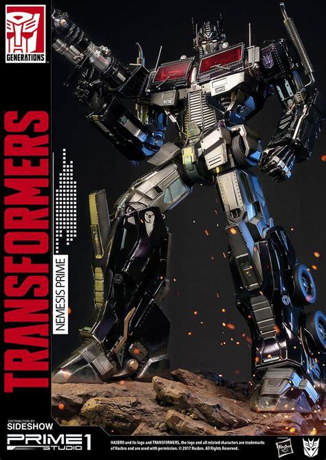 Transformers Nemesis Prime prime 1 studio megatron optimus prime starscream museum