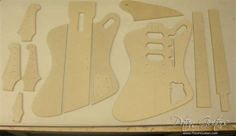 firebird guitar template images