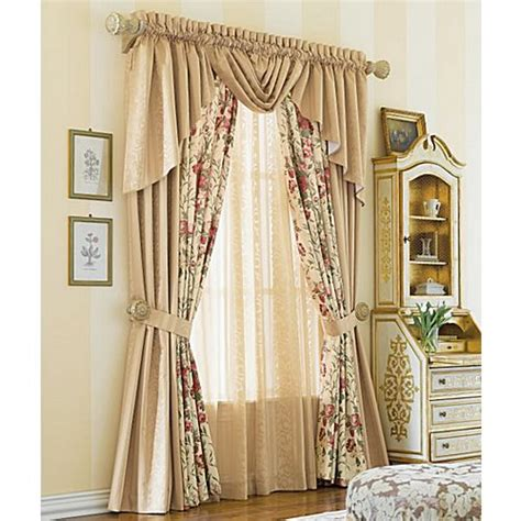 curtains with waterfall valance pinterest the world s catalog of ideas