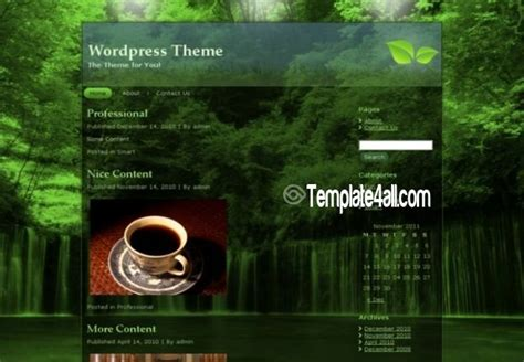 forest river wordpress theme free download