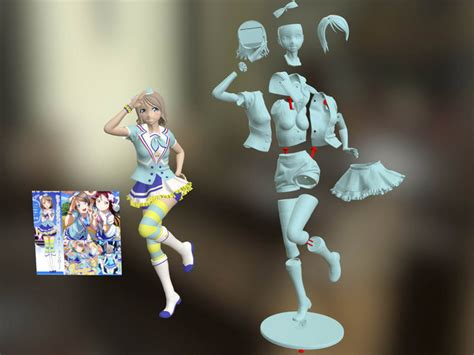 Boots Aozora Jumping 3d printed yousoro 青空 jumping by johnniewhiskey