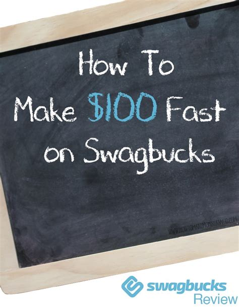 How Can A Kid Make Money Fast Online - swagbucks review how to make 100 fast on swagbucks howtomakemoneyasakid com