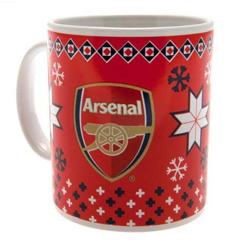 arsenalchristmas mgs arsenal mugs official merchandise 2017 2018