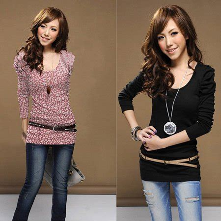 fashion s cotton o neck sleeve t shirt