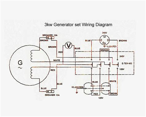 generator panel wiring diagram generator free engine image for user manual