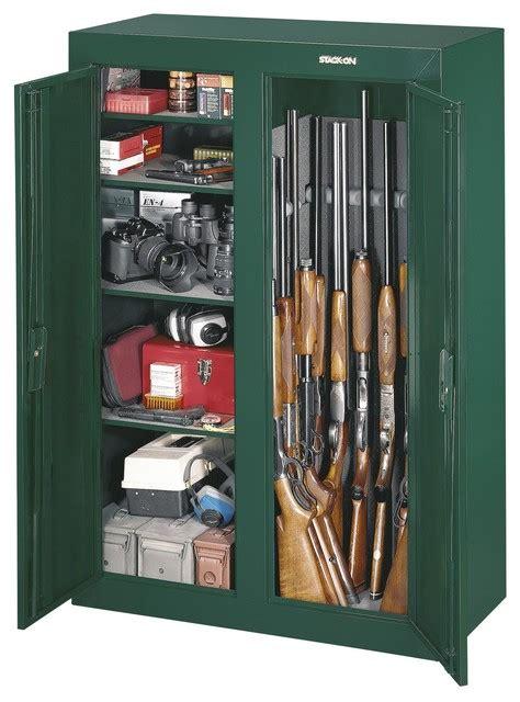 Gun Cabinet In Closet by Gun Cabinet Steel Security Cabinet 14 Gun