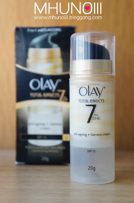 Olay Total Effect Anti Ageing Fairness Review bloggang saray review olay total effects anti ageing fairness spf15 กระจ างใส