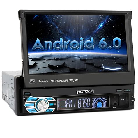 android car stereo din 7 quot android 6 0 single 1 din car radio stereo gps obd2 3g dab subwoofer bluetooth ebay