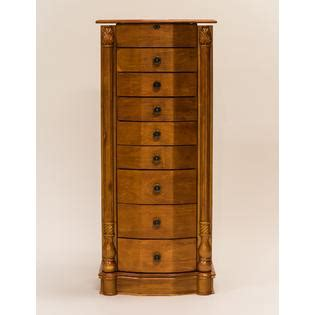 Sears Jewelry Armoire Clearance by Hives Honey Louis Xvi Honey Oak Jewelry Armoire