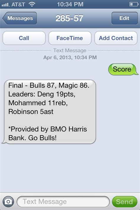 Find To Text Message Chicago Bulls Use Sms To Affordably Update Fans Tatango