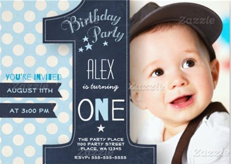 1st birthday card free template 30 birthday invitations free psd vector eps ai