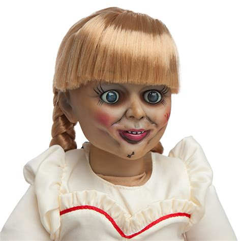 annabelle doll annabelle prop replica doll thinkgeek