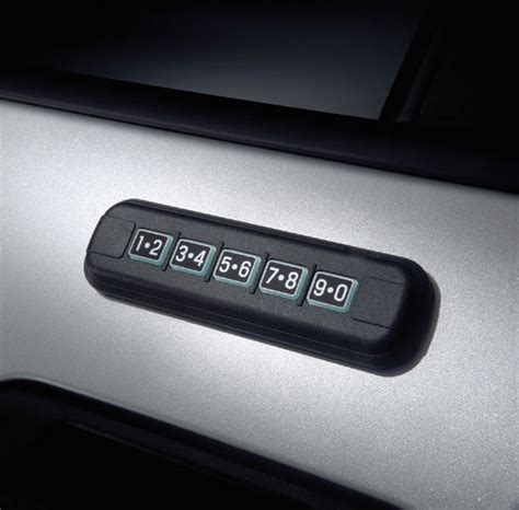 find ford lincoln door manual keypad code locationfind