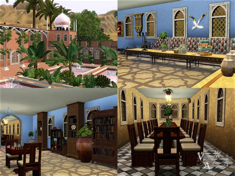 sims 3 custom content middle east mod the sims villa kaml with new arabic custom content