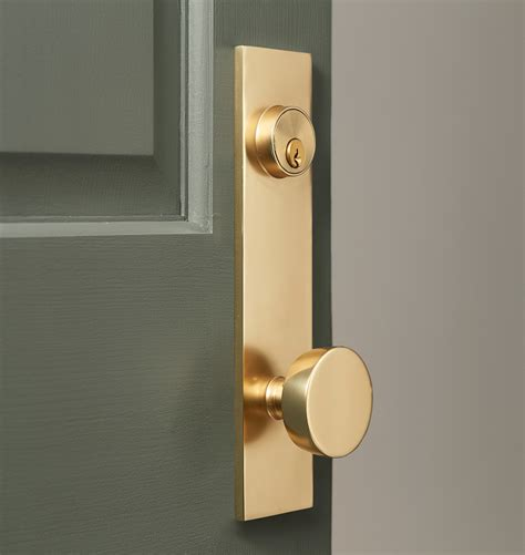 Front Door Knob Set by Tumalo Brass Knob Exterior Door Set Rejuvenation