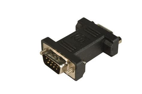 Converter Vga Pin 15 To Vga maplin vga 9 pin to 15 pin adapter gold card monitor converter ebay