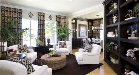 Modern Traditional Living Room Ideas by Living Room Fix It Friday San Diego Interior Designers