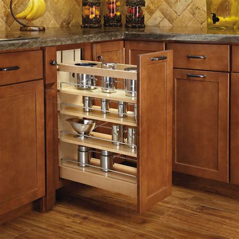 rev kitchen cabinets rev a shelf wood pull out organizer with blumotion soft