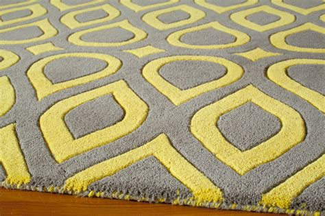 yellow grey area rug new interior gray and yellow area rug for household with