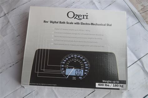 Ozeri Bathroom Scale Review by Ozeri Rev Digital Bathroom Scale Review Nicki S Random