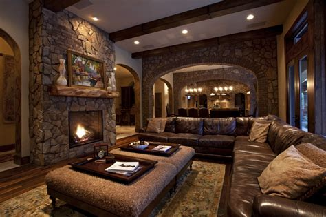 rustic living room design 1000 images about stunning real estate on pinterest