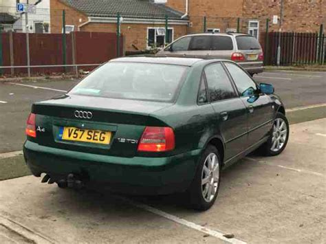 Audi A4 1 9 Tdi For Sale by Audi 2000 A4 1 9 Tdi Se Green Car For Sale