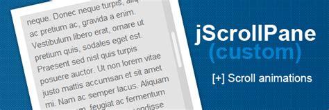 javascript tutorial and exles jscrollpane javascript tutorial