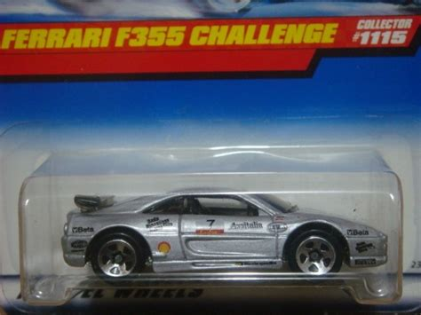 Hotwheels F355 Challenge 1999 Silver 1 wheels 1999 f355 challenge collector 1115 239 00 en mercado libre
