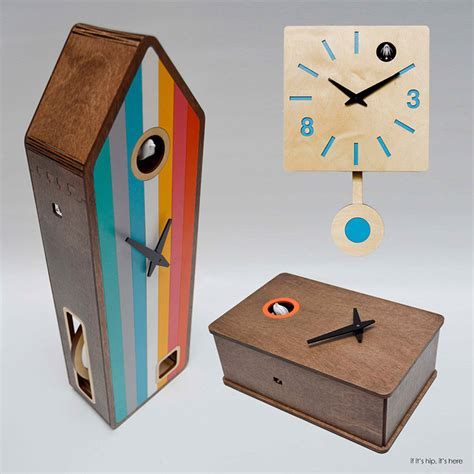 modern cuckoo clock pedro mealha makes marvelous modern cuckoo clocks if it