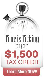 time is ticking for home improvement tax credits on the