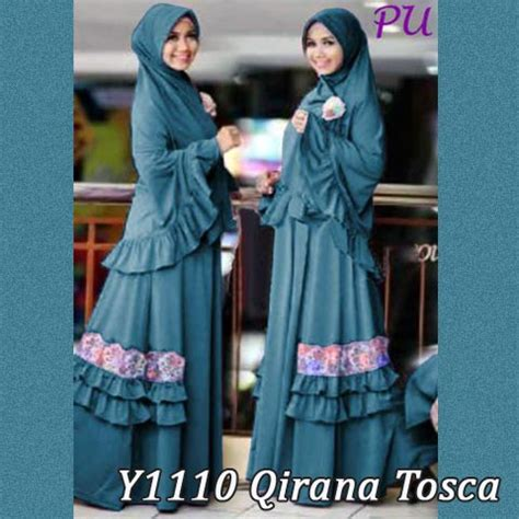 Jilbab Mini Pad Size Fit To L Grosir Jilbab Instan Murah baju muslim bergo qirana renda y1110 gamis syari