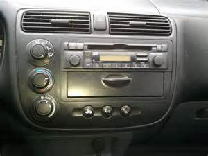 2002 honda civic lx radio removal