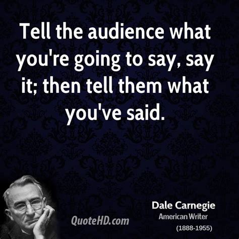 How To See Whats Going On When Youre Not Home by Dale Carnegie Quotes Quotesgram