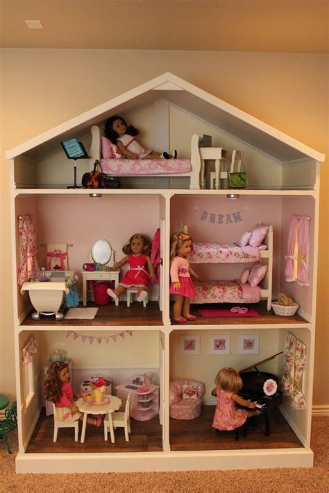 american girl doll house for sale doll house plans for american girl or 18 inch by addielillian