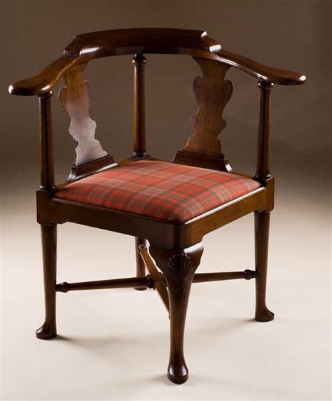 antique reproduction corner chair