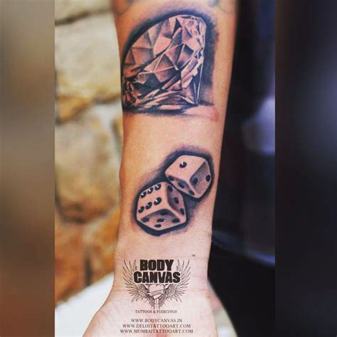 dice tattoos designs top 25 best dice ideas on