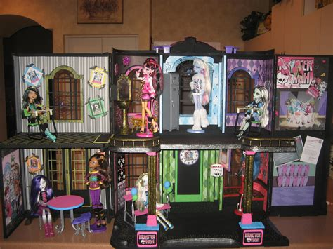 pictures of monster high doll house monster high images another cool mh house hd wallpaper and