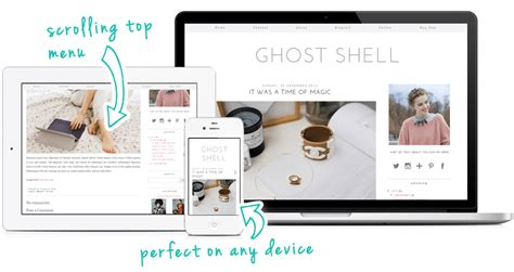 ghost templates for blogger ghost shell a modern and minimal blogger template by pipdig