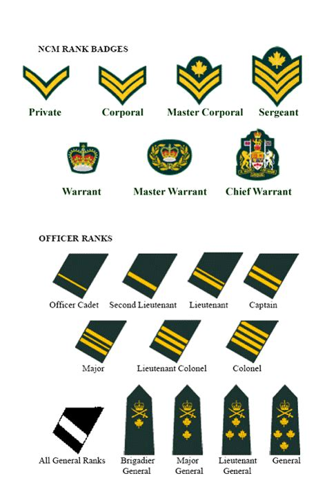 Officer Ranks Army by Ranks