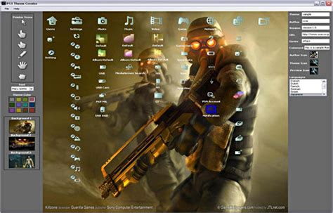ps3 theme maker online ps3 theme creator 1 5 erschienen play3 de