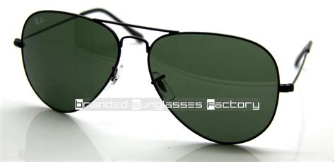 Rayban Aviator Rb3026 ban aviator rb3026 l2821 62mm sunglasses black frame green g 15 lens by www