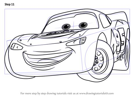 Cars 3 Sketches learn how to draw lightning mcqueen from cars 3 cars 3