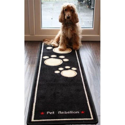 absorbent rugs for dogs pet rebellion cat runner absorbent non slip washable door mat carpet rug ebay